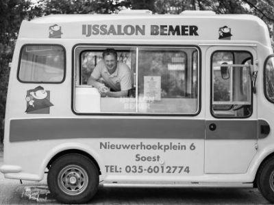 Nieuwe website voor IJssalon Bemer