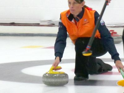 Mooie ervaringen voor Linda Kreijns bij EK-curling