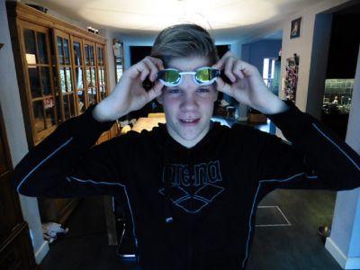 Querijn Hensen ontwikkelt zich als zwemmer en persoon