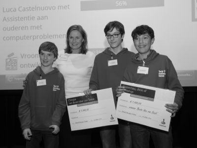TechAssistance Soest overtuigende winnaar van het Beste Ondernemersidee van Soest